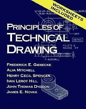 Principles of Technical Drawing by Frederick E. Giesecke (1992, Paperback)