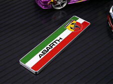 ABARTH Car Logo Sticker Decal character Emblem For All Fiat 124/125/125/500