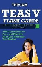 TEAS V Flash Cards: Complete Flash Card Study Guide for the TEAS V, Trivium Test