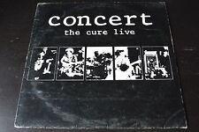 LP the CURE concert live (the cure en vivo) ARGENTINA 1987 VINYL VINILO