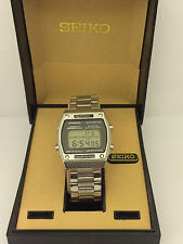 Seiko Spots 100 A229-5060 Digital Chronograph  LCD Collectible  Watch
