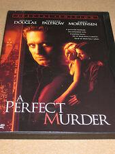 A Perfect Murder (DVD, 1998) Michael Douglas, Gwyneth Paltrow           LN