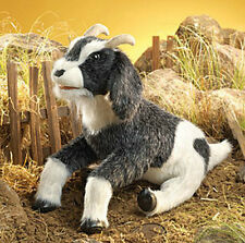 "GOAT Full Body PUPPET # 2520 ~19"" LONG! ~FREE SHIPPING/USA ~ Folkmanis Puppets"