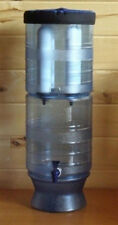 "New Berkey Light w/ Two 9"" White Ceramic Water Filters by British Berkefeld"