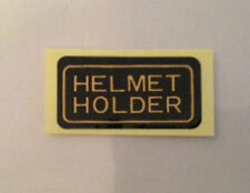 HONDA CBR900RR FIREBLADE HELMET HOLDER CAUTION WARNING LABEL DECAL