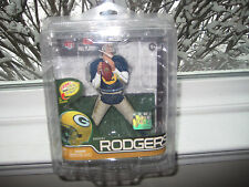 MCFARLANE NFL 29 AARON RODGERS SILVER COLLECTOR LEVEL CHASE VARIANT #371/1000