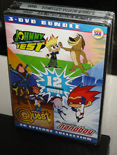 Animated Action Bundle - Johnny Test + Nanoboy + World of Quest (DVD) 30 EPISODE
