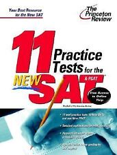 11 Practice Tests for the New SAT and PSAT: With Free Access to Online Score Rep