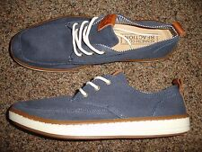 Kenneth Cole Reaction 83 Blue Brown Casual Shoe Men Size 9 1/2 M 9.5 Shoes  -bb
