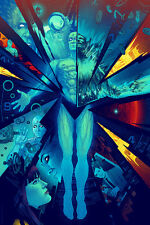 MONDO Watchmen Dr Manhattan Screen Print Poster by Kevin Tong