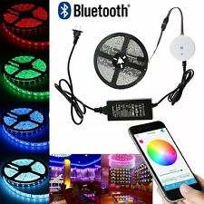 24V 32.8ft 10M RGB Bluetooth Controller 600 LED waterproof Strip tape Light Kit