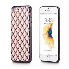 For Apple iPhone 6S /6S Plus Electroplating Metallic Soft TPU Case Cover Skin