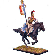 First Legion: NAP0073 French 2nd Carabiniers Standard Bearer Charging