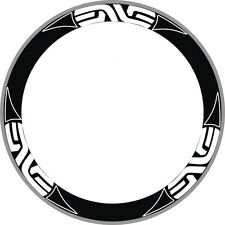 EVNE SYSTEM CARBON BIKE BICYCLE RIM DECAL STICKERS SET FOR TWO WHEELS 700C