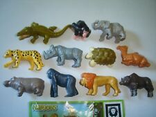 KINDER SURPRISE SET - NATOONS AFRICAN WILD ANIMALS 2010 - FIGURES COLLECTIBLES