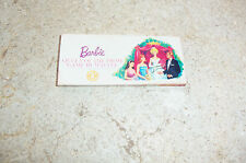 "Vintage Original The Barbie Game ""Queen of the Prom"" 1960 Mattel Board Game MINI"