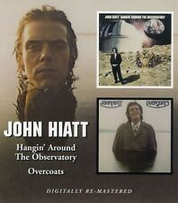 Hangin Around The Observatory/Overcoats - 2 DISC SET - John Hiat (2006, CD NEUF)