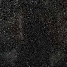 """Sparkle Glitter Vinyl Upholstery Fabric - Sold By The Yard - 54""""- Black"""