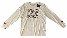 #23 Jordan Nike Jumpman Long Sleeve Graphic Tee T-Shirt White Mens 3XL NWT