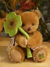 Teddy Hermann Originale Lucky Charm Teddy Bear SHAMROCK 15616 1