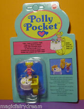Polly Pocket Mini NEU ♥ Tiny Tina's Dinner Time Ring ♥ 1989 ♥ Rarität ♥ NEW ♥