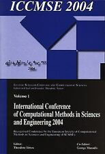 International Conference of Computational Methods in Sciences and Engineering...