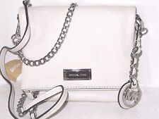 Michael Kors XS Extra Small Corinne Ecru Pebbled Leather Crossbody Bag NWT $198