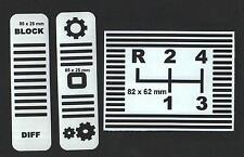 Schaltschema für Gutbrod Traktor 1050 usw 3teilig bis  BJ 1970