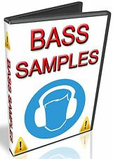 BASS SAMPLES - APPLE LOGIC PRO X EXS24- STUDIO / EXPRESS - HALION - NUENDO - WAV