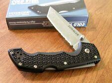 Couteau Cold Steel Medium Voyager Lame Tanto Acier AUS-8 Part Serr CS29TMTH