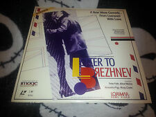Letters to Brezhnev LD Peter Firth Alfred Molina Free Ship $30 Orders