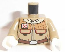 Lego Star Wars Hoth Rebel Torso x 1 Dark Tan with Pattern for Minifigure