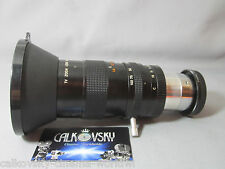 CANON ZOOM 2/17-102mm C-MOUNT LENS 16MM MOVIE CAMERA