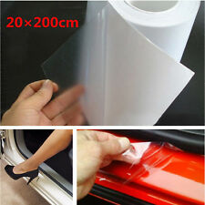 20×200cm Clear Car Door Sill/Edge Paint Protection Vinyl Film Sheet Anti-Scratch