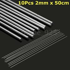 10X ( 2mm x 50cm ) Aluminium Low Temperature Welding Brazing Rod Wire Electrode