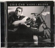 CRIS CAB - WHERE I BELONG CD NUOVO SIGILLATO