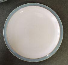 """Denby England Azure Blue 10 1/2"""" Dinner Plate EUC"""