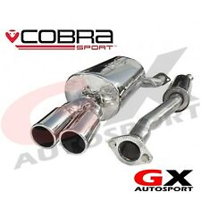 BM11 Cobra Sport BMW 3 Series 316I & 318I E46 98-06 Cat Back Exhaust System