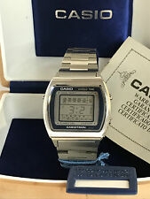 Casio Casiotron 29CS-11 World Time Quartz LCD LED Watch