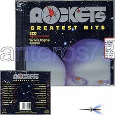"ROCKETS ""GREATEST HITS"" RARE 2 CD '96 ORIGINAL VERSION"