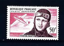 FRANCE - FRANCIA - PA - 1955 - 3° anniv. della morte dell'aviatore Maryse Bastié