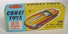 Repro Box Corgi Nr.312 Jaguar E Type Competition