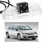 4 LED Car Rear View Camera Reverse Backup CCD fit for Honda Civic 2009-2011 10