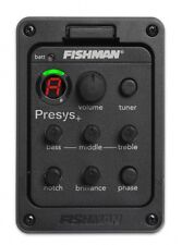 FISHMAN 201 Presys-201 Onboard Preamps Guitar EQ Tuner Piezo Pickup Equalizer