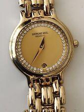 Ladies Raymond Weil Chorus, 18k Gold Plated, Stainless Steel, Luxury Watch