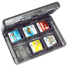 ZedLabz game case for Nintendo 3DS 2DS DS 24 in 1 card holder storage box black