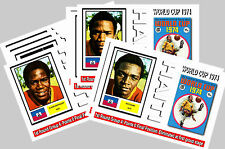 HAITI - 1974 WORLD CUP  SERIES 1 - COLLECTORS POSTCARD SET