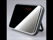 Clock Camera Mini Digital Mirror Hidden Clock DVR With Motion Detection