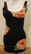 TOPSHOP MOTEL FITTED BODYCON DRESS/LONG STRET TOP-MEDIUM-UK 8-10-12-Work/Office!