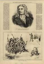 1879 Barton Booth zulù St James's Hall musica e le regine dei terreni